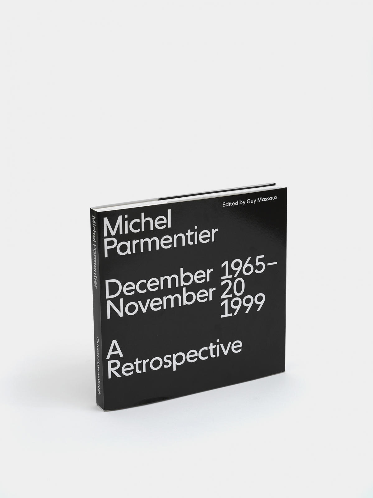 Michel Parmentier, December 1965 - November 20, 1999: A Retrospective