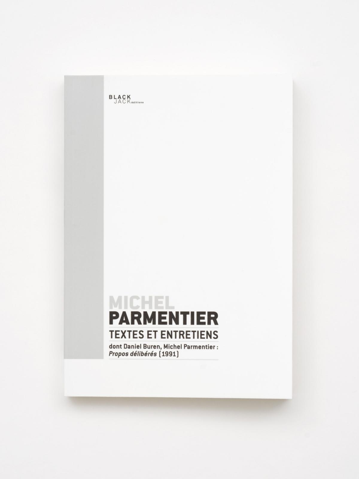 """Michel Parmentier - """"Textes et entretiens"""""""
